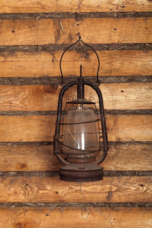 Oude lamp royalty-vrije stock foto