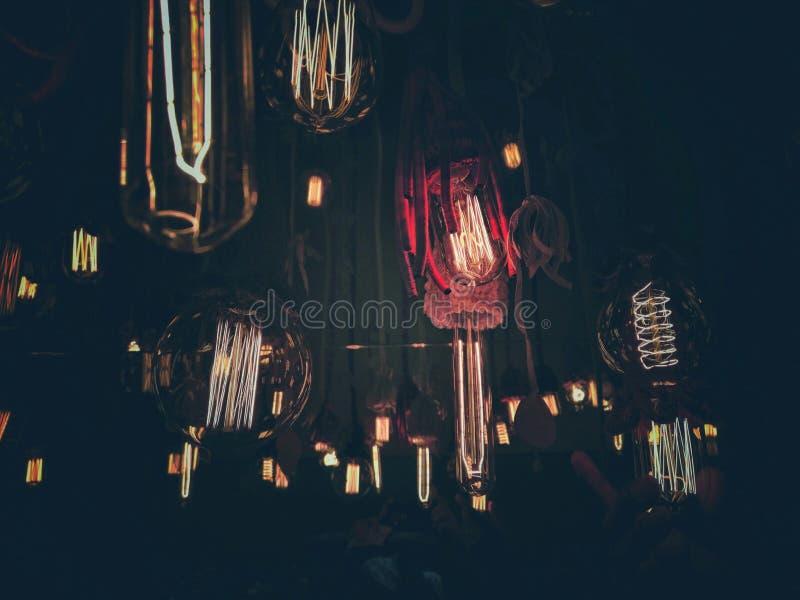 Oude lampen stock afbeeldingen
