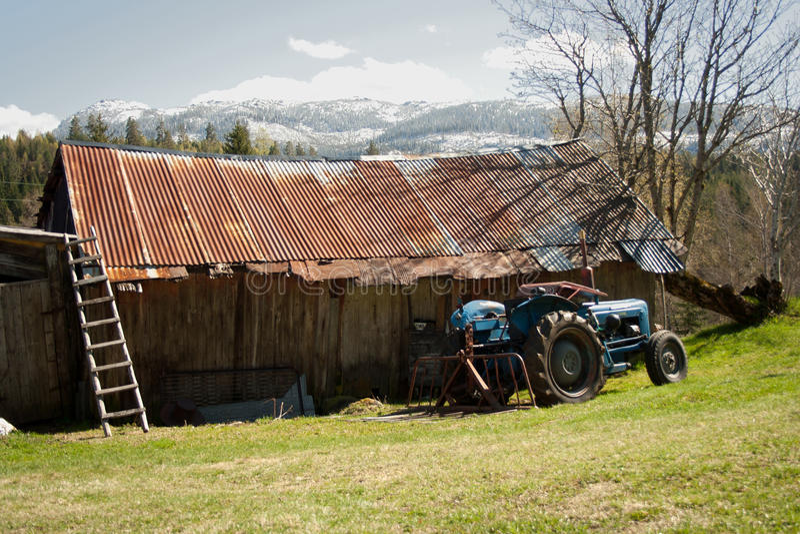 Oude landbouw royalty-vrije stock afbeelding