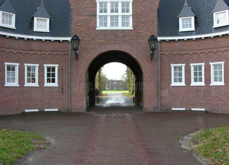 Oude landhouse stock foto's