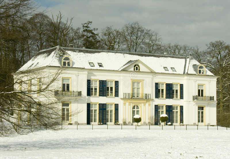 Oude landhouse royalty-vrije stock afbeelding