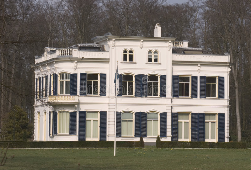 Oude landhouse stock foto