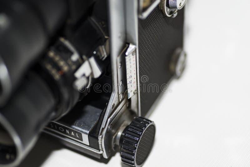 Oude Lens en Foto stock fotografie