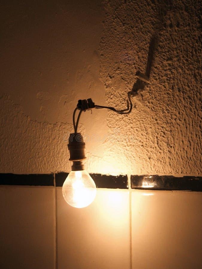 Oude lightbulb stock foto