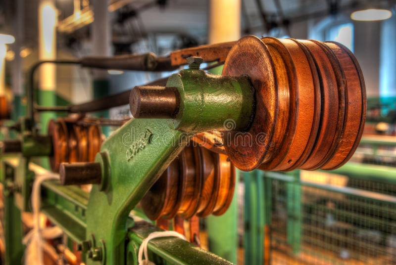 Oude Machines die in Clseup worden getoond royalty-vrije stock afbeelding
