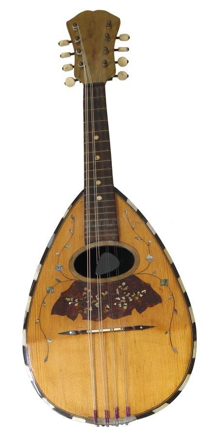 Oude mandoline royalty-vrije stock foto's