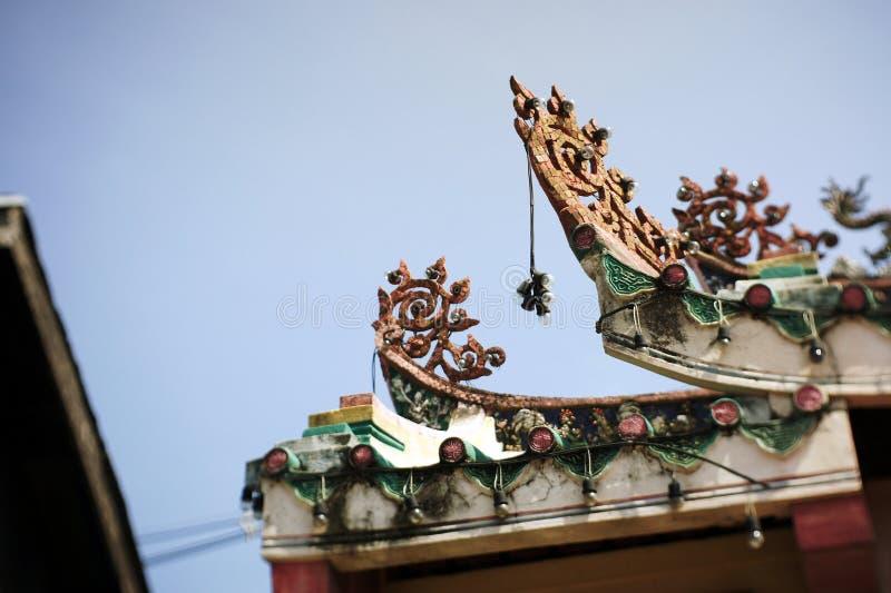 Oude markt, de markt van China, Chinese markt royalty-vrije stock foto's