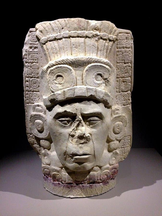 Oude Maya Art royalty-vrije stock afbeeldingen