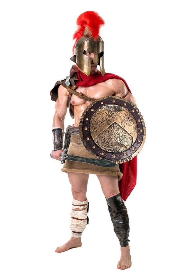 Oude militair of Gladiator royalty-vrije stock foto