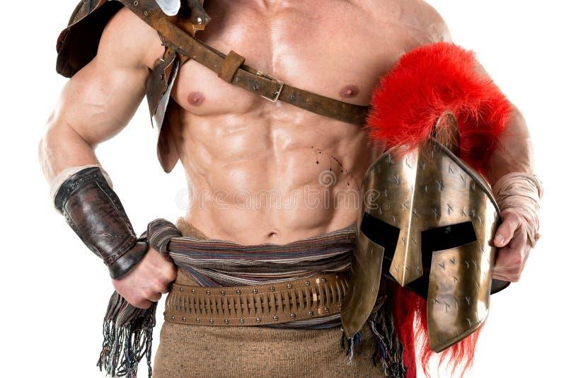 Oude militair of Gladiator royalty-vrije stock fotografie