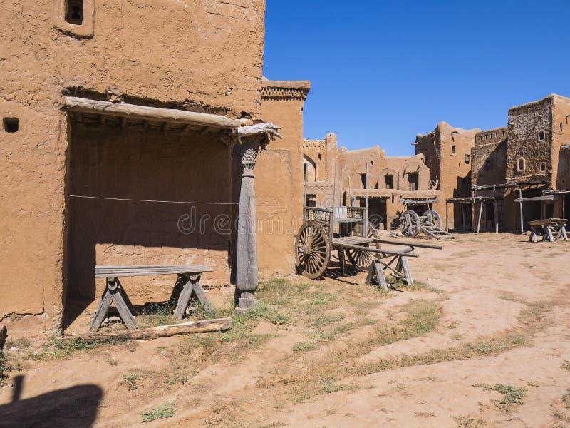 Oude Mongoolse nederzettingen royalty-vrije stock foto