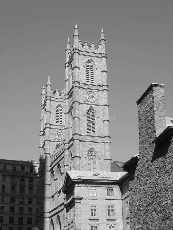 Oude Montréal stock afbeelding