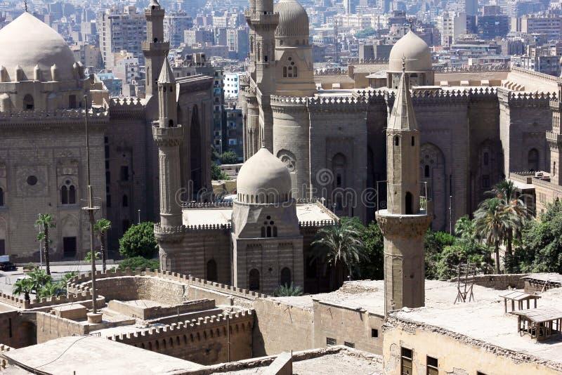 Oude moskee in Kaïro stock fotografie