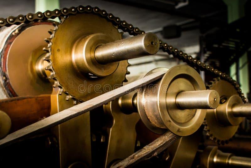 Oude motor stock afbeeldingen