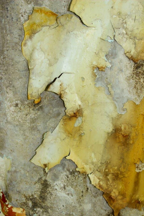 Oude muurtextuur Abstracte textuurachtergrond Gebarsten verf op de muur royalty-vrije stock afbeelding