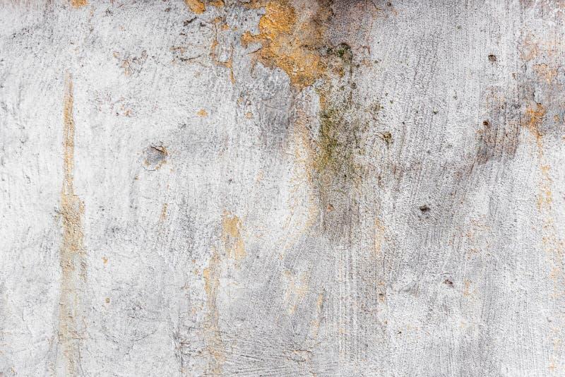 Oude muurtextuur met schade stock afbeeldingen