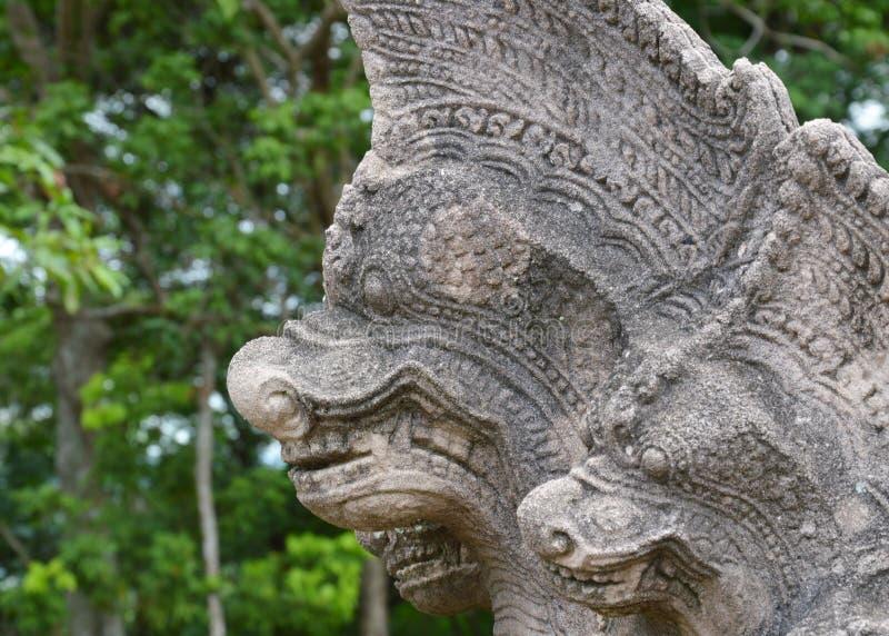 Oude Naka bij het historische park van Phanomrung in Thailand stock foto