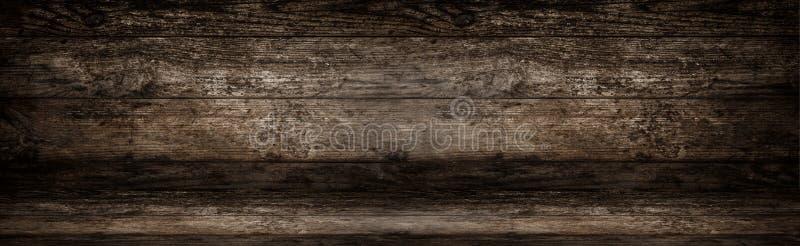 Oude natuurlijke houten achtergrond, muur, studioruimte Houten lijst of vloer royalty-vrije stock afbeeldingen