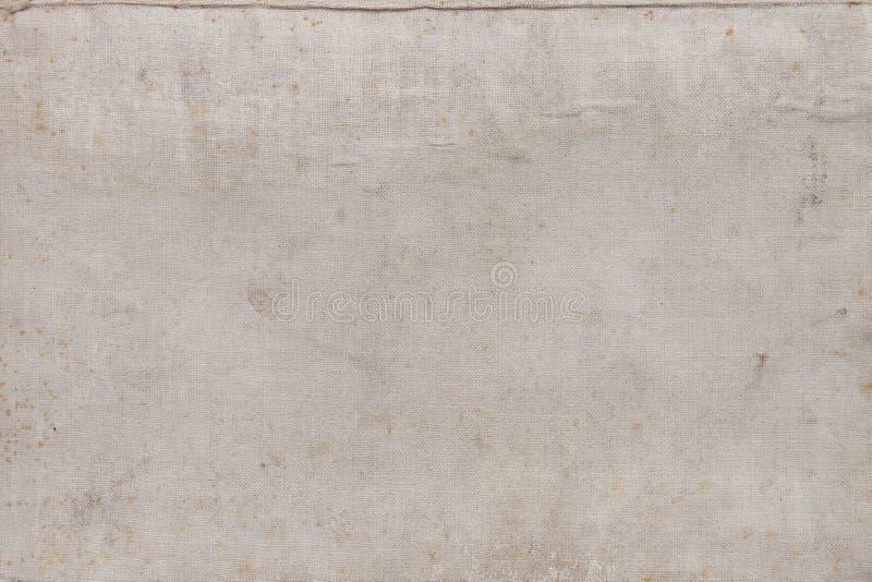 Oude natuurlijke linnentextuur royalty-vrije stock foto