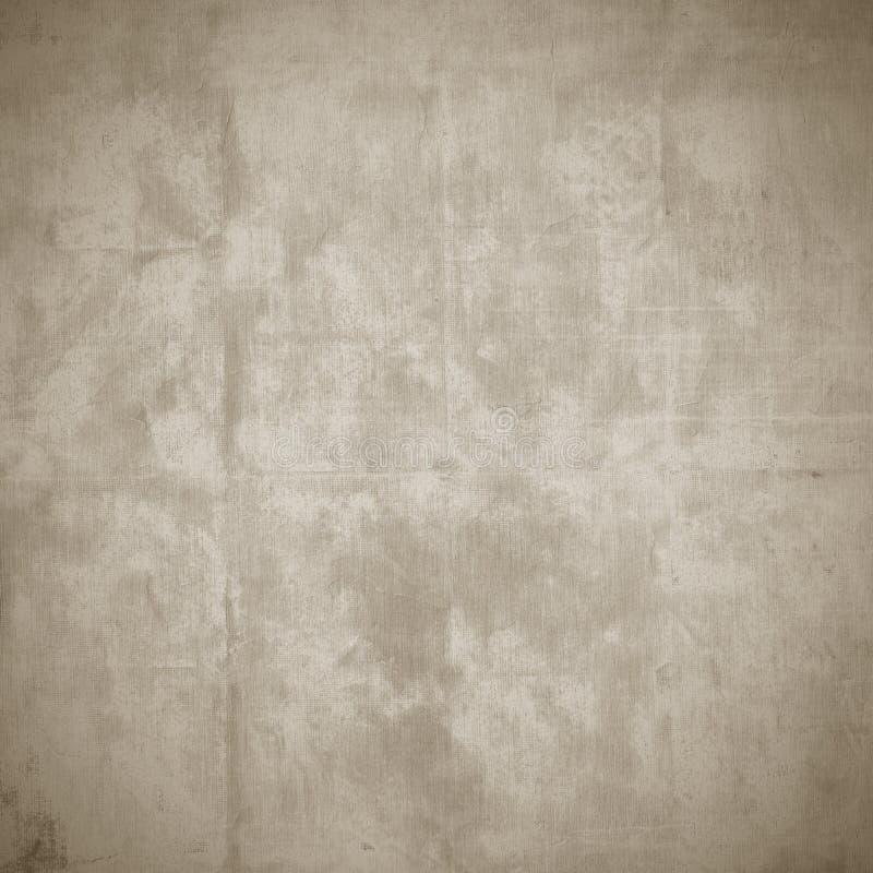 Oude natuurlijke stoffentextuur, grunge achtergrond royalty-vrije stock afbeelding