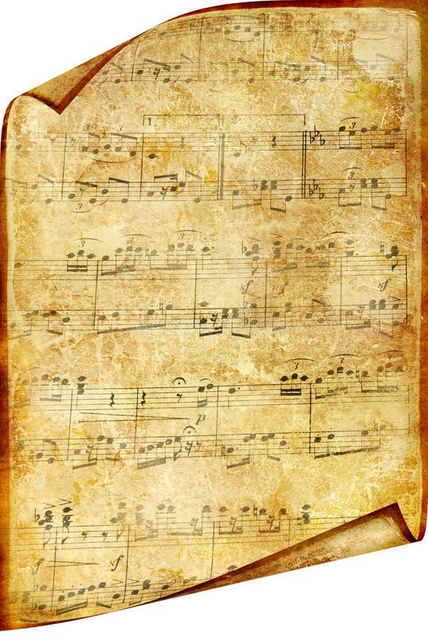 Oude notarol vector illustratie