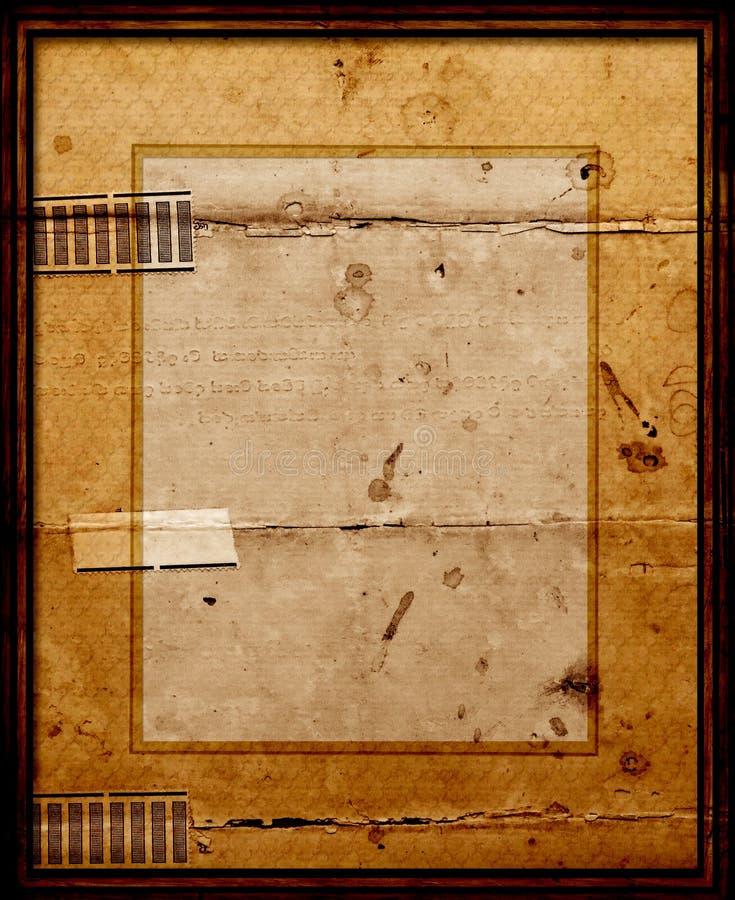 Oude Omlijsting met onderstel vector illustratie