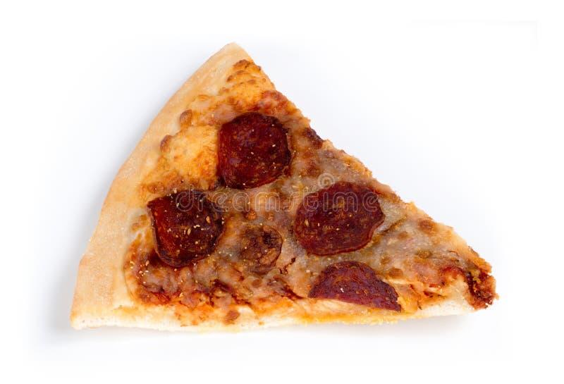 Oude oude die pizzaplak tegen wit wordt geïsoleerd royalty-vrije stock fotografie