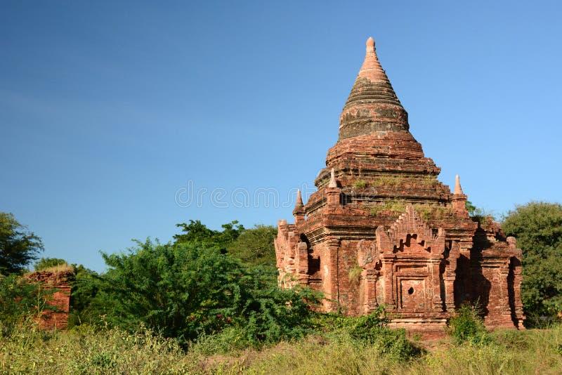 Oude Pagode Bagan Het gebied van Mandalay myanmar royalty-vrije stock foto