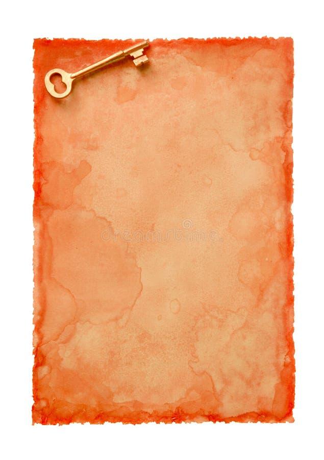 Oude papier-24 royalty-vrije stock afbeelding