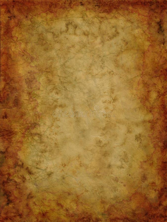 Oude papyrusachtergrond royalty-vrije stock afbeeldingen