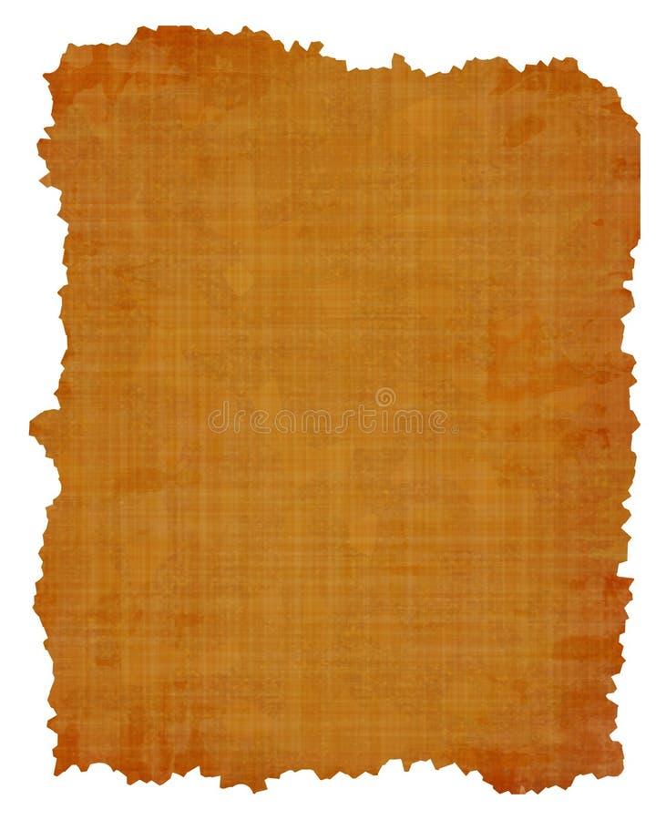 Oude papyrustextuur vector illustratie