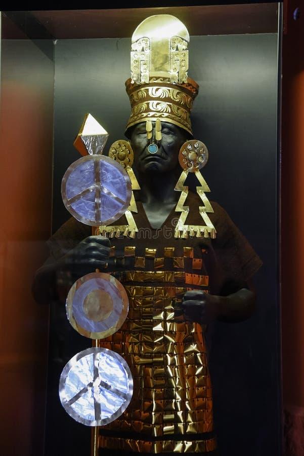 Oude Peruviaanse Elite, Priesters en Lords Inca royalty-vrije stock afbeelding