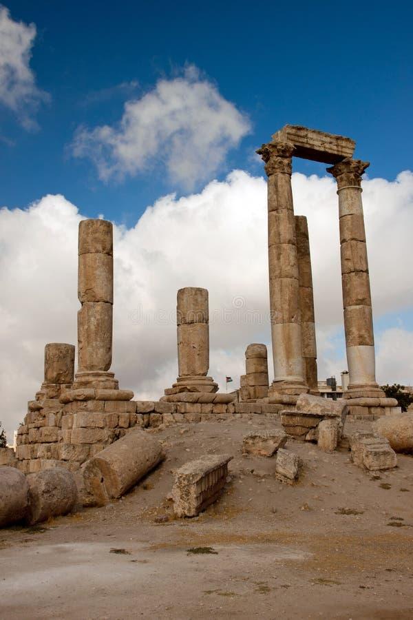 Oude Pijlers van Hercules royalty-vrije stock foto