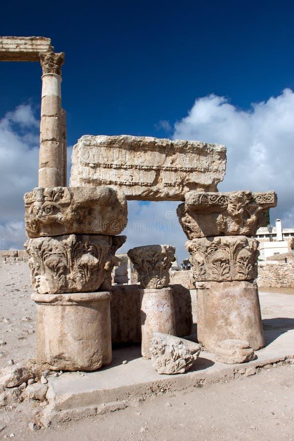 Oude Pijlers van Hercules stock fotografie