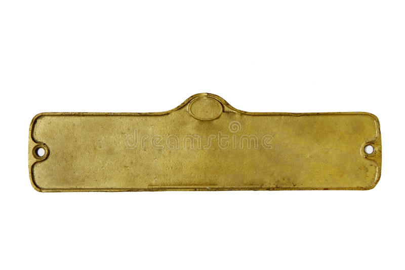 Oude plaat stock afbeelding