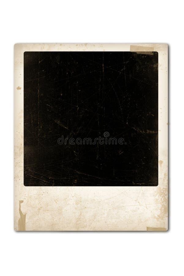 Oude polaroid stock illustratie