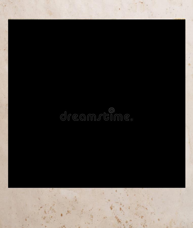 Oude polaroid royalty-vrije stock afbeeldingen