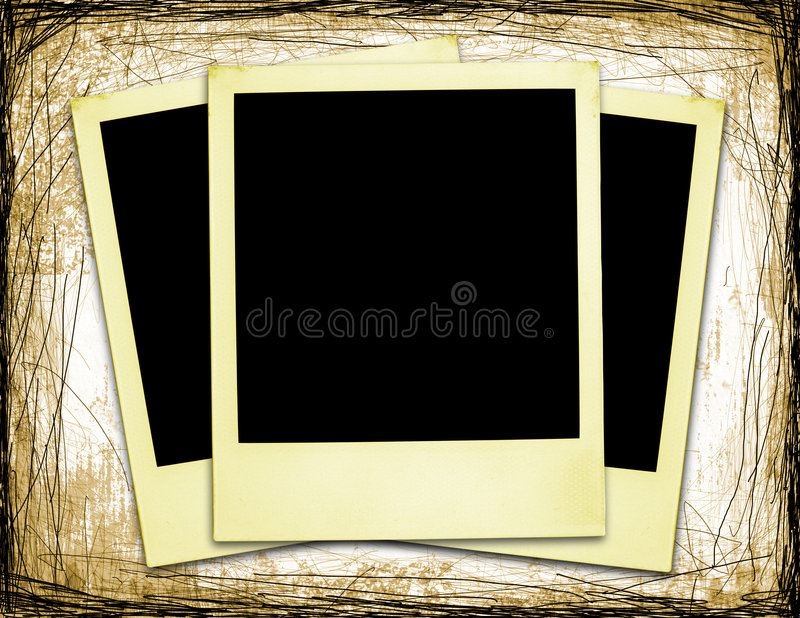 Oude Polaroidcamera's (XXL) vector illustratie