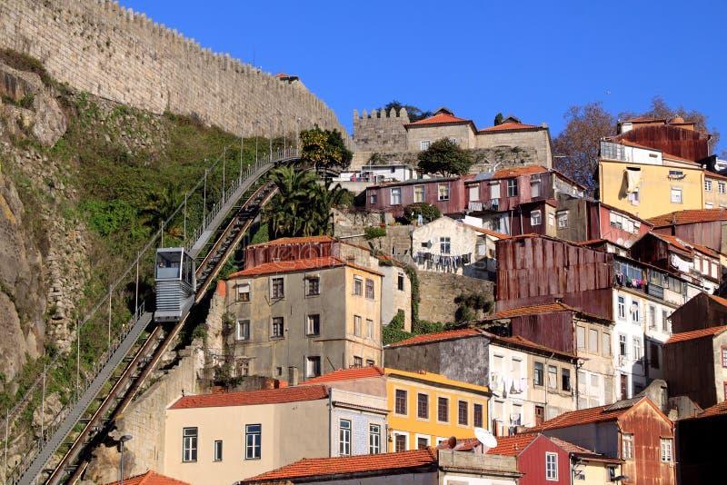 Oude Porto stock foto
