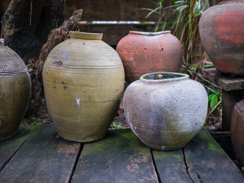 Oude pottenbakker royalty-vrije stock fotografie