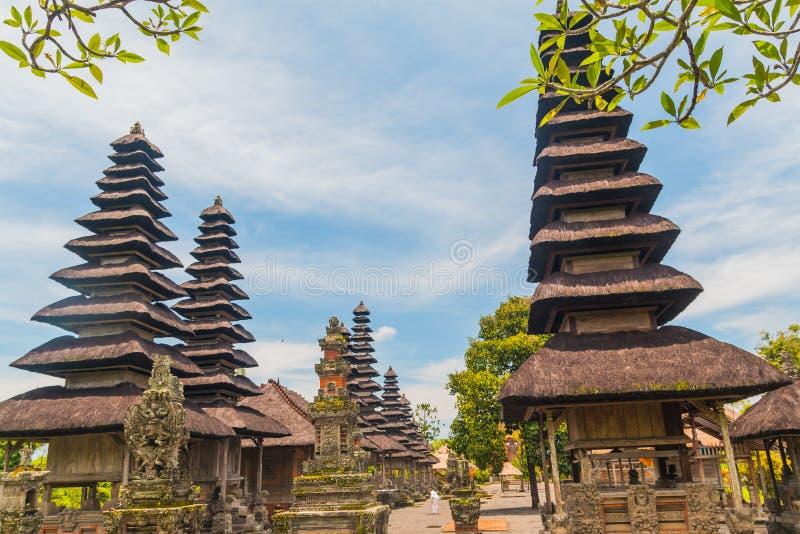 Oude Pura Taman Ayun Temple stock afbeelding