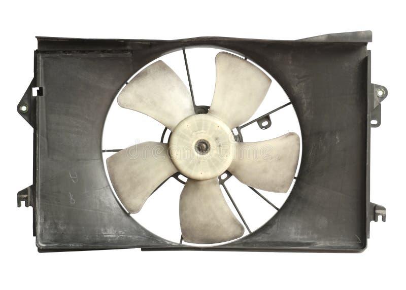 De koelere ventilator van de radiator stock afbeelding