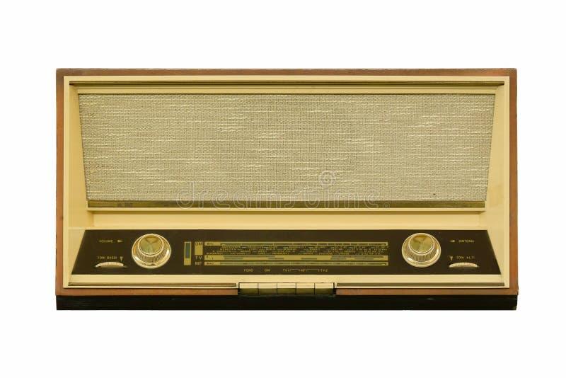 Oude radio stock afbeeldingen