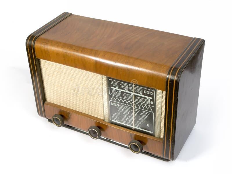 Oude radio stock fotografie