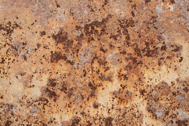 Oude roestige de textuurachtergrond van het metaalstaal royalty-vrije stock foto