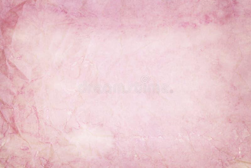 Oude roze document textuur royalty-vrije stock afbeeldingen