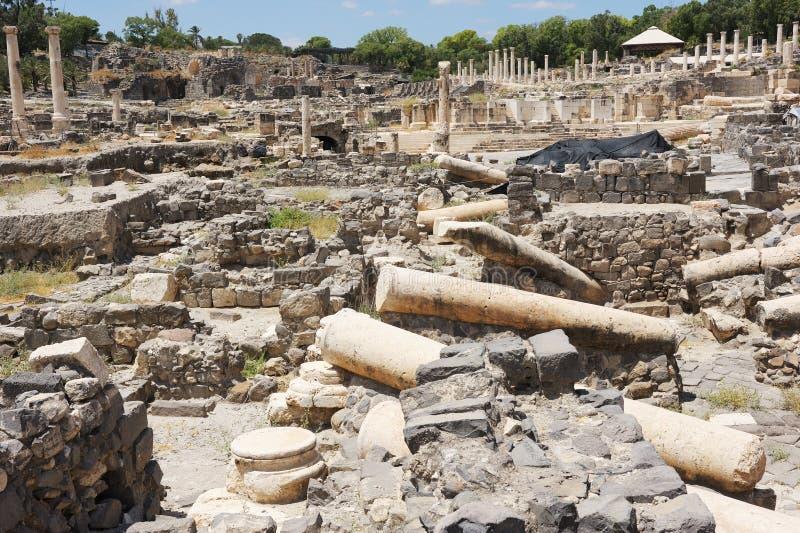 Oude ruïnes stock foto