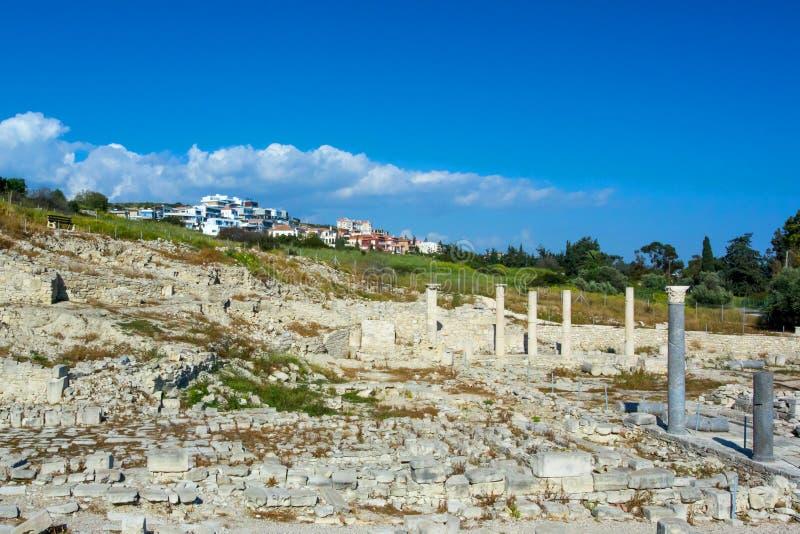 Oude ruïnes in het gebied Amatus royalty-vrije stock foto's