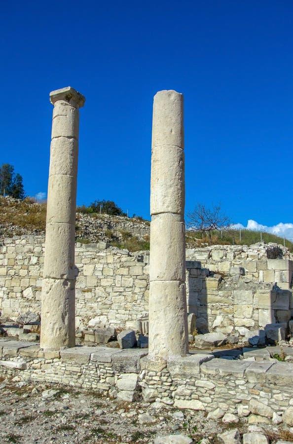 Oude ruïnes in het gebied Amatus stock afbeelding