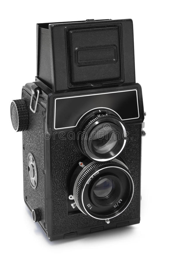 Oude Russische camera stock foto